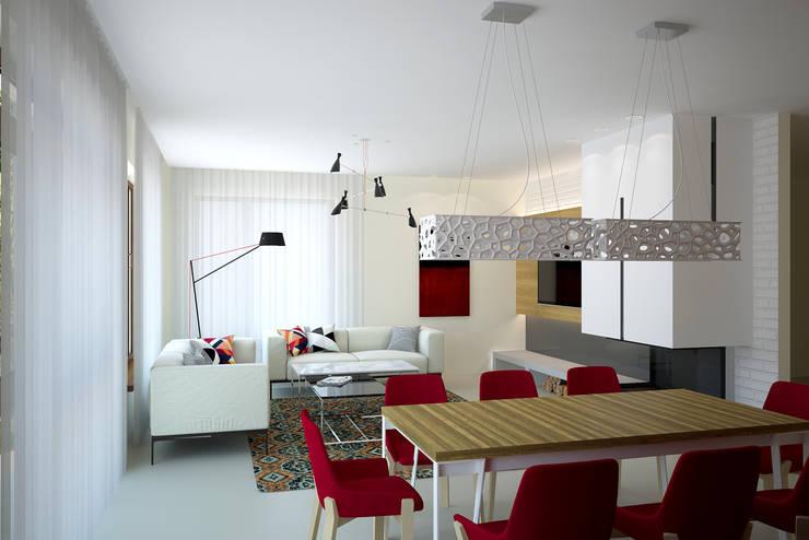 Столовые комнаты в . Автор – дизайн-студия Олеси Середы