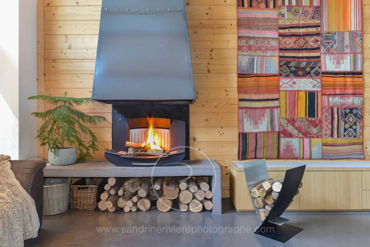 Salones de estilo industrial de Sandrine RIVIERE Photographie