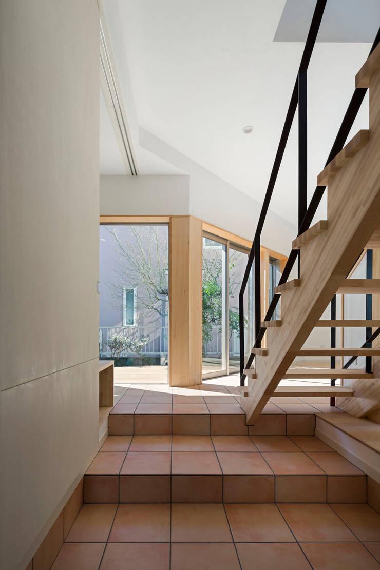 大岡山の家: (有)伊藤道代建築設計事務所が手掛けた和室です。,