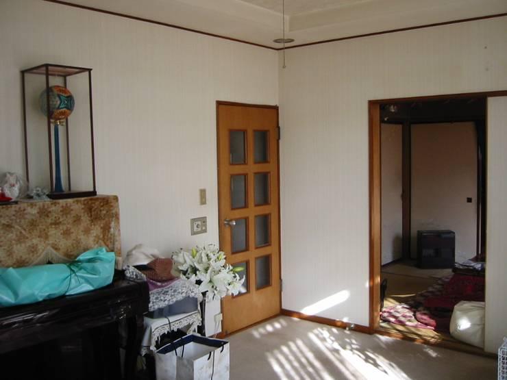 和室・母の部屋(改修前): 青戸信雄建築研究所が手掛けたです。