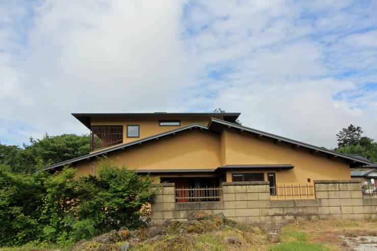 外観: 一級建築士事務所 アトリエ カムイが手掛けた家です。