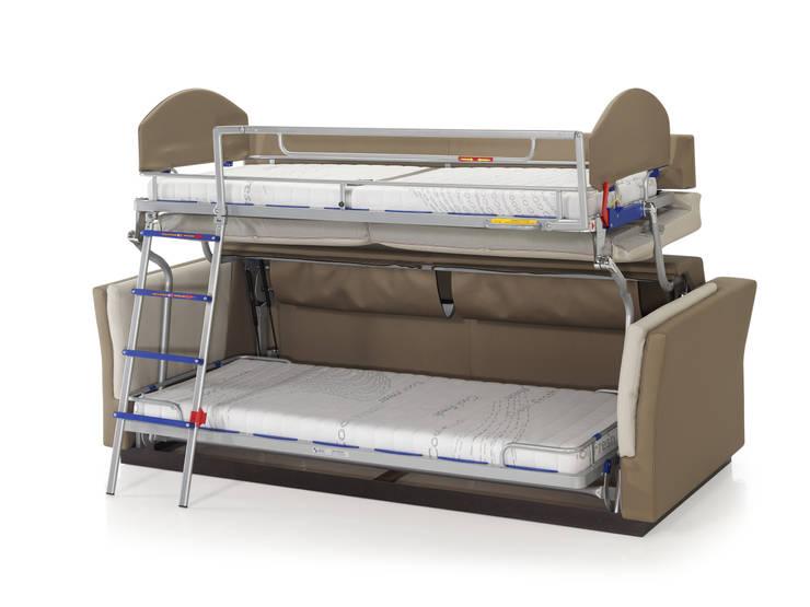 Sofás cama : Salones de estilo  de ECUS