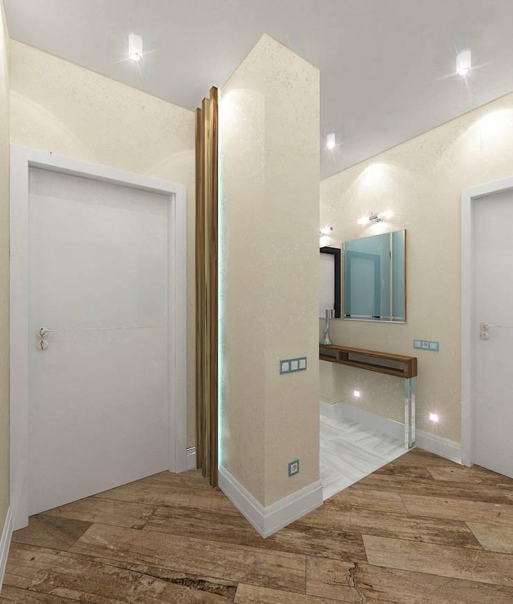 Квартира в элитном жилом комплексе <q>Парус</q>: Коридор и прихожая в . Автор – Design Rules,