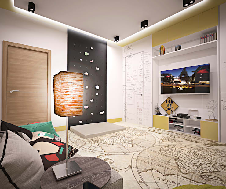 eclectic Nursery/kid's room by ООО 'Студио-ТА'