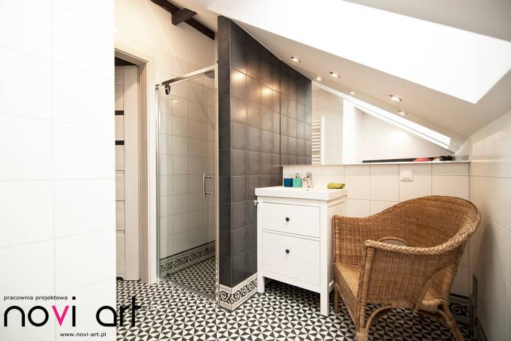 Łazienka: styl , w kategorii Łazienka zaprojektowany przez Novi art