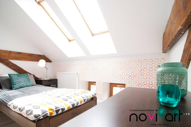 Sypialnia 1: styl , w kategorii Sypialnia zaprojektowany przez Novi art
