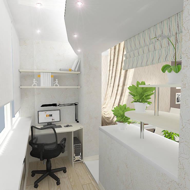 Трехкомнатная квартира: Бассейн в . Автор – Design Rules,