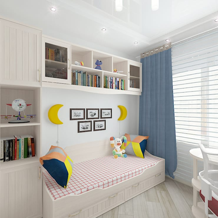 Quarto infantil  por Design Rules