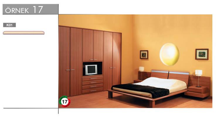armoni yapı – Mutfak & Mobilya:  tarz Yatak Odası, Modern