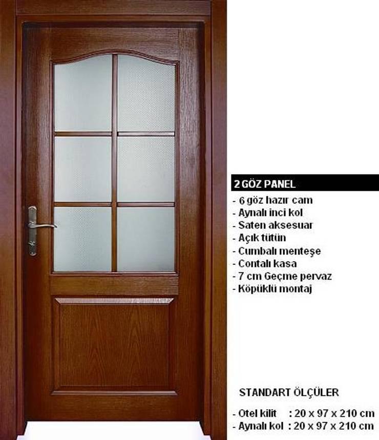 armoni yapı – Oda Kapıları:  tarz Pencere, Modern
