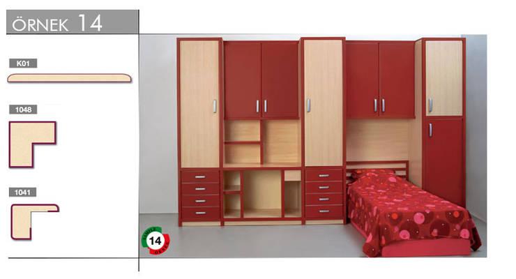 armoni yapı – Mutfak & Mobilya:  tarz Çocuk Odası