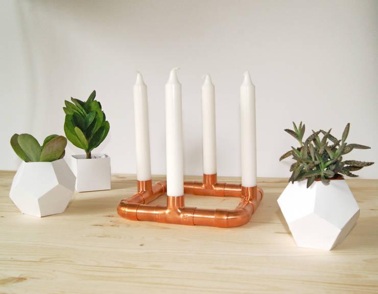 Kerzenständer - CS 4-1:  Wohnzimmer von SKÍNA