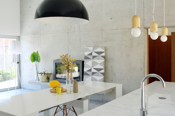 modern Dining room by Artspazios, arquitectos e designers