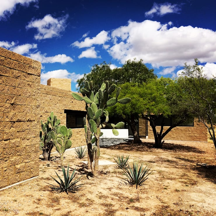 Integración al contexto: Casas de estilo  por Paramétrica Arquitectos