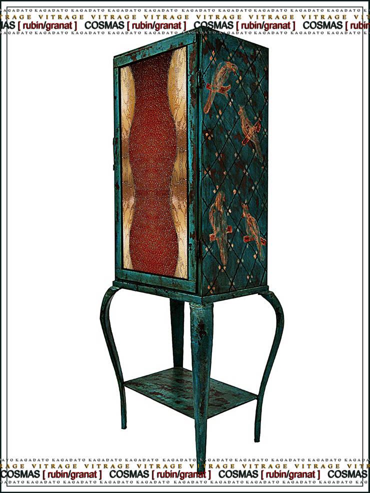 Металлический шкаф - COSMAS [rubin/granat]: Гостиная в . Автор – KAGADATO,