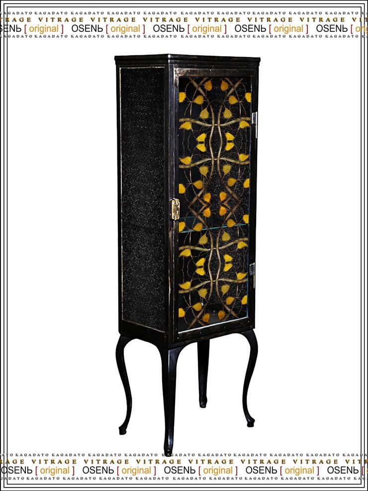 Металлический шкаф - OSENЬ [original]: Гостиная в . Автор – KAGADATO,