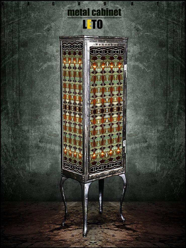 Металлический шкаф - LETO: Гостиная в . Автор – KAGADATO,