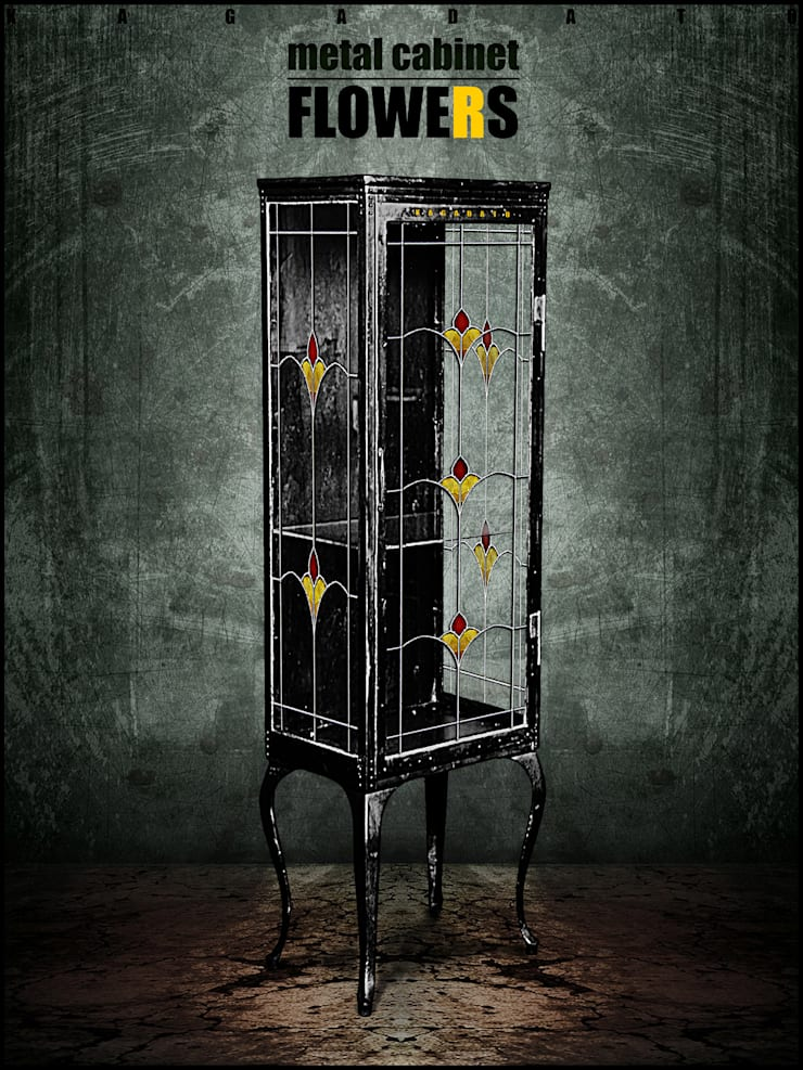 Металлический шкаф - FLOWERS: Гостиная в . Автор – KAGADATO,