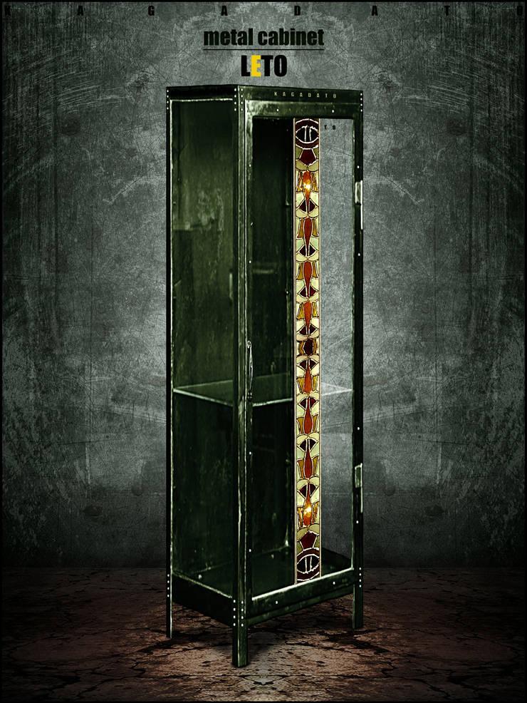 Металлический шкаф - LETO 2.: Гостиная в . Автор – KAGADATO,
