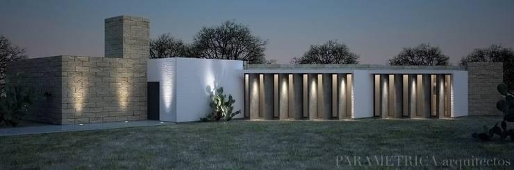Casas de estilo  de Paramétrica Arquitectos