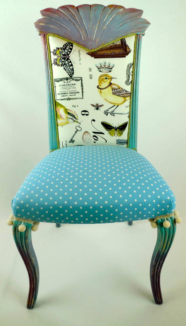 Hier Finden Sie Kunterbunte Stühle Für Das Esszimmer: Ausgefallene Esszimmer  Von Motley Chairs