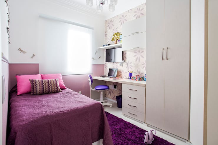 moderne Kinderzimmer von Amanda Pinheiro Design de interiores