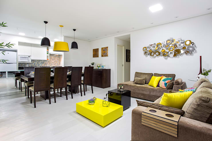 Amanda Pinheiro Design de interiores:  tarz Oturma Odası