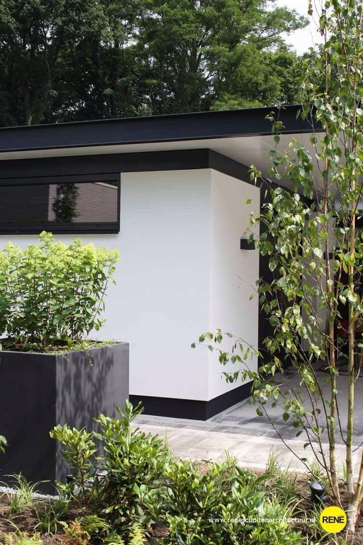 BUITEN LIVING:  Garage/schuur door René Scholten Architectuur