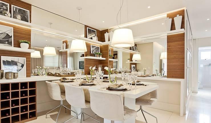 Lapa | Decorados: Salas de jantar modernas por SESSO & DALANEZI