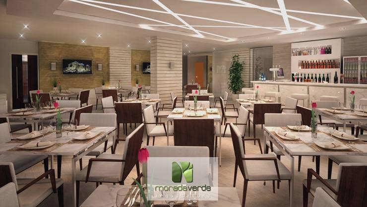 Salle à manger minimaliste par Moradaverde Arquitetura Ltda. Minimaliste