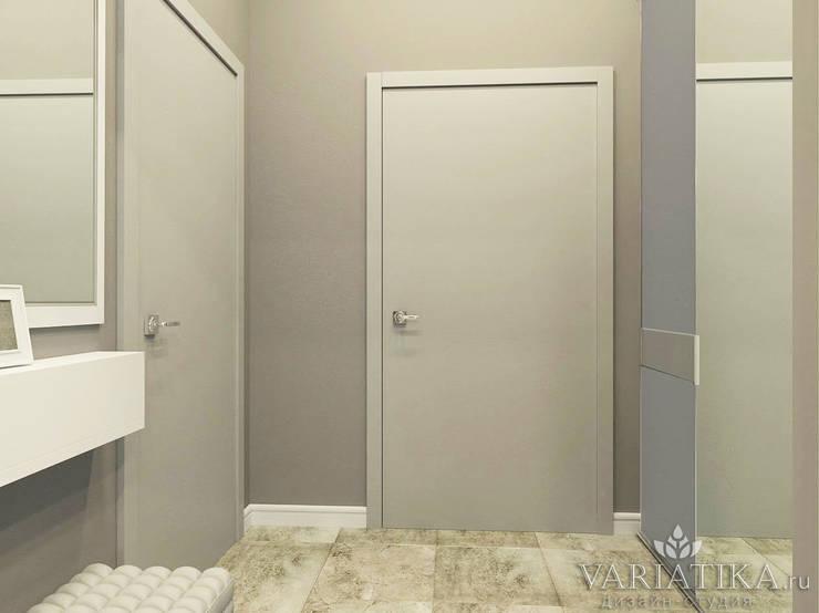 Дизайн квартиры в ЖК Галактика, 50 кв.м.: Коридор и прихожая в . Автор – variatika