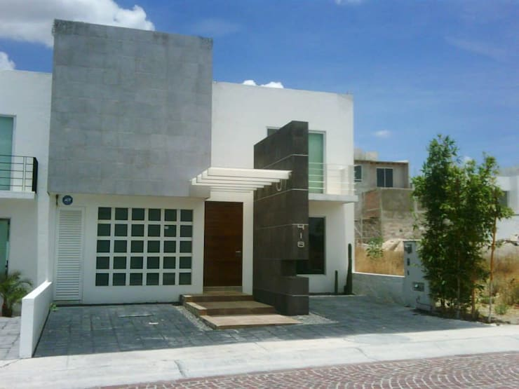 Casas modernas por SANTIAGO PARDO ARQUITECTO