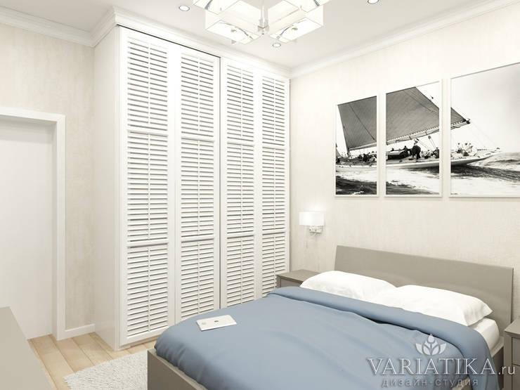 Дизайн квартиры в ЖК Кутузов: Спальни в . Автор – variatika