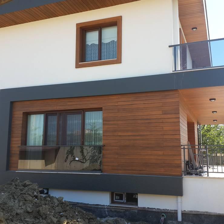 CANSEL BOZKURT  interior architect – Görgülü villasi: modern tarz Evler