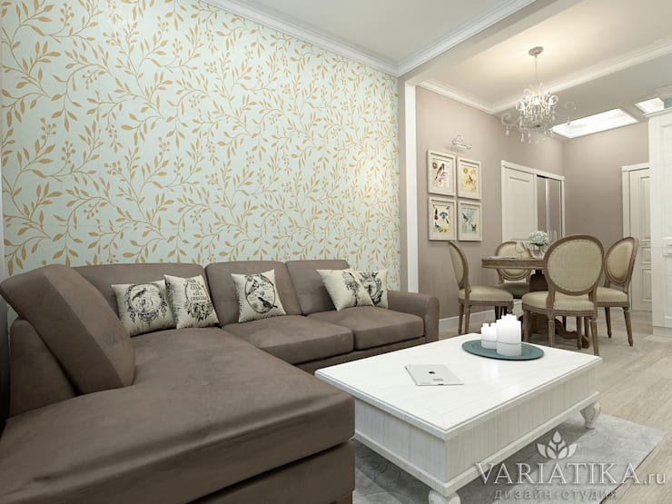 Living room by variatika, Eclectic