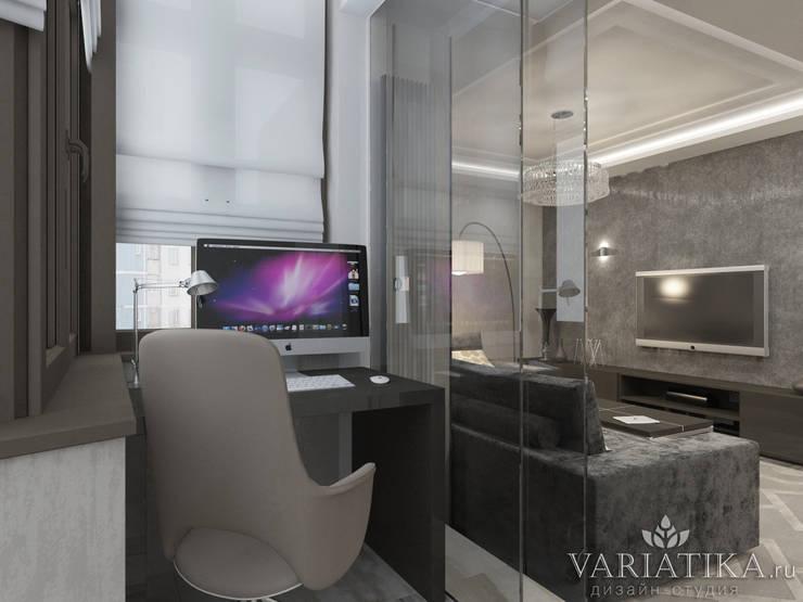 Дизайн квартиры в ЖК Гусарская Баллада: Tерраса в . Автор – variatika