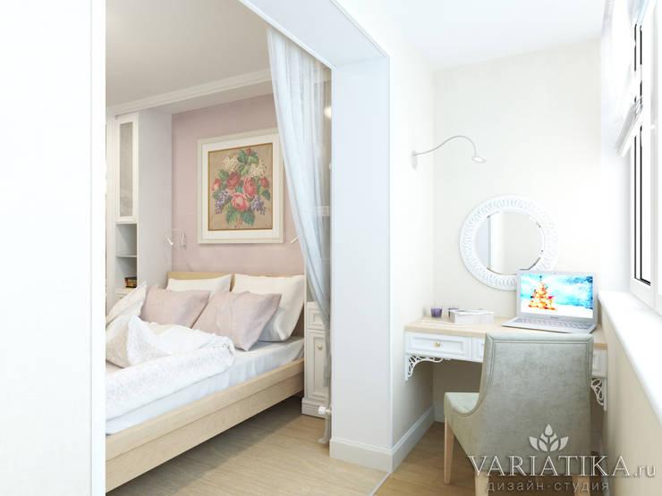 Дизайн интерьера квартиры площадью в г.Мытищи, 100 кв.м. : Tерраса в . Автор – variatika