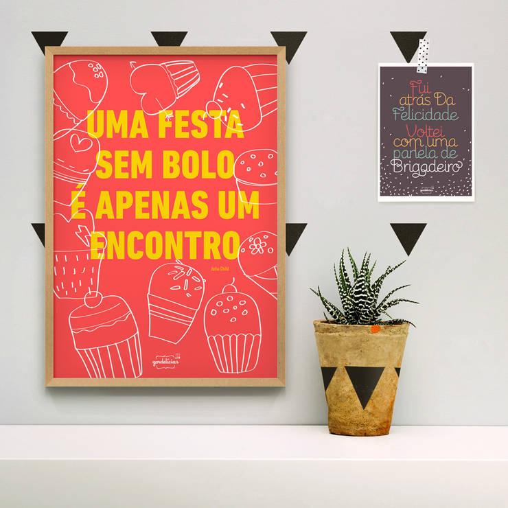 Coleção Gordelícias: Casa  por Na Casa da Joana - Posters