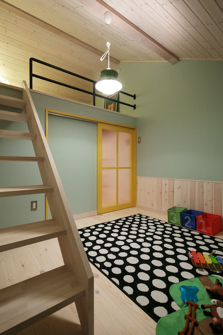 U's HOUSE: dwarfが手掛けた子供部屋です。