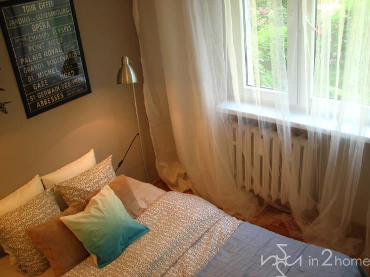 Sypialnia po Home Stagingu: styl , w kategorii  zaprojektowany przez in2home