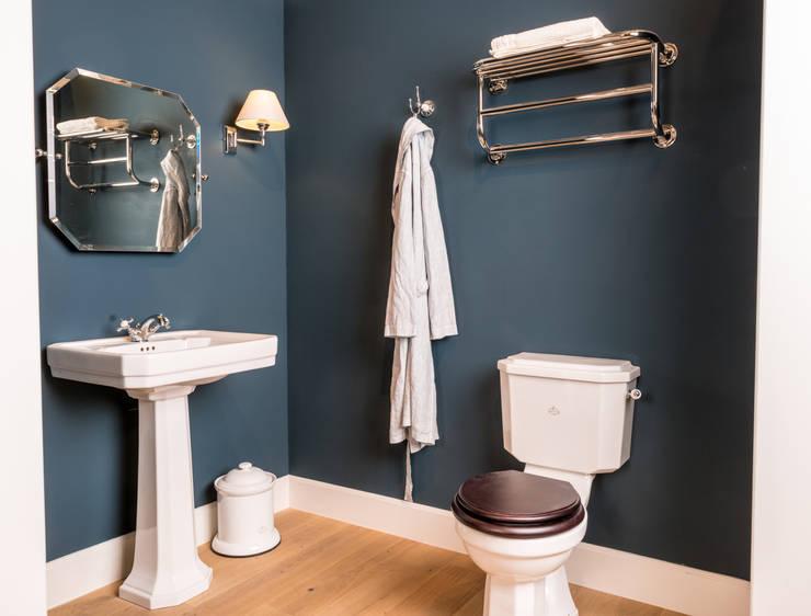 Kenny&Mason New York Bathroom: landelijke Badkamer door Kenny&Mason