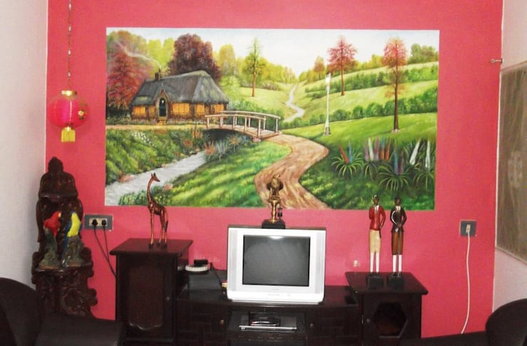 wall mural:  Artwork by Ben wall mural art