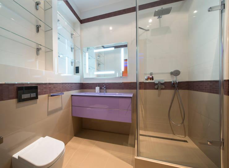 Клубный дом: Ванные комнаты в . Автор – Sky Gallery