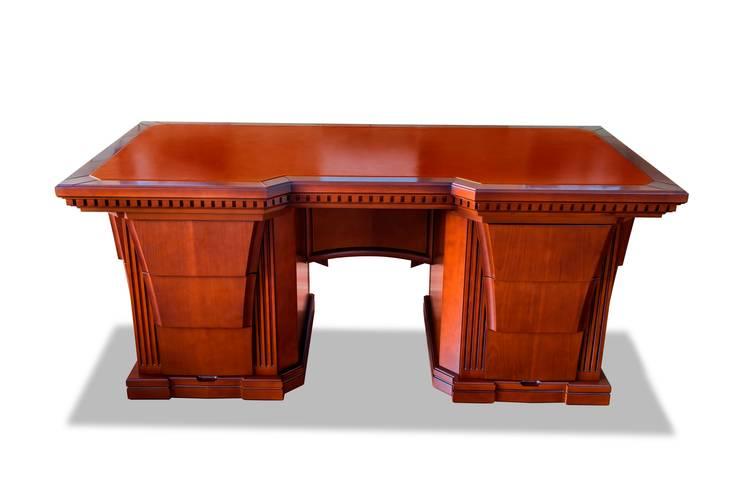 Кабинетный стол: Рабочий кабинет  в . Автор – Sky Gallery