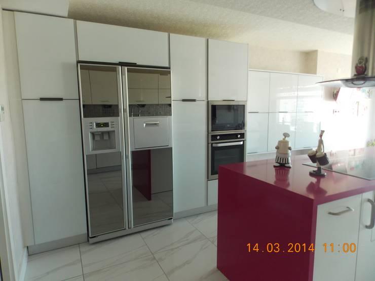 Vizyon mimarlık ve Dekorasyon – N&O.A Evi / Uzunköprü: modern tarz Mutfak