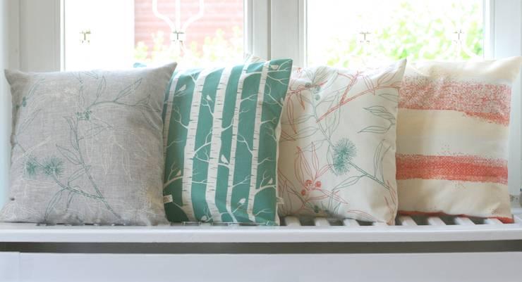 Kissenbezüge - Pastel Farben:  Wohnzimmer von Koala Designs