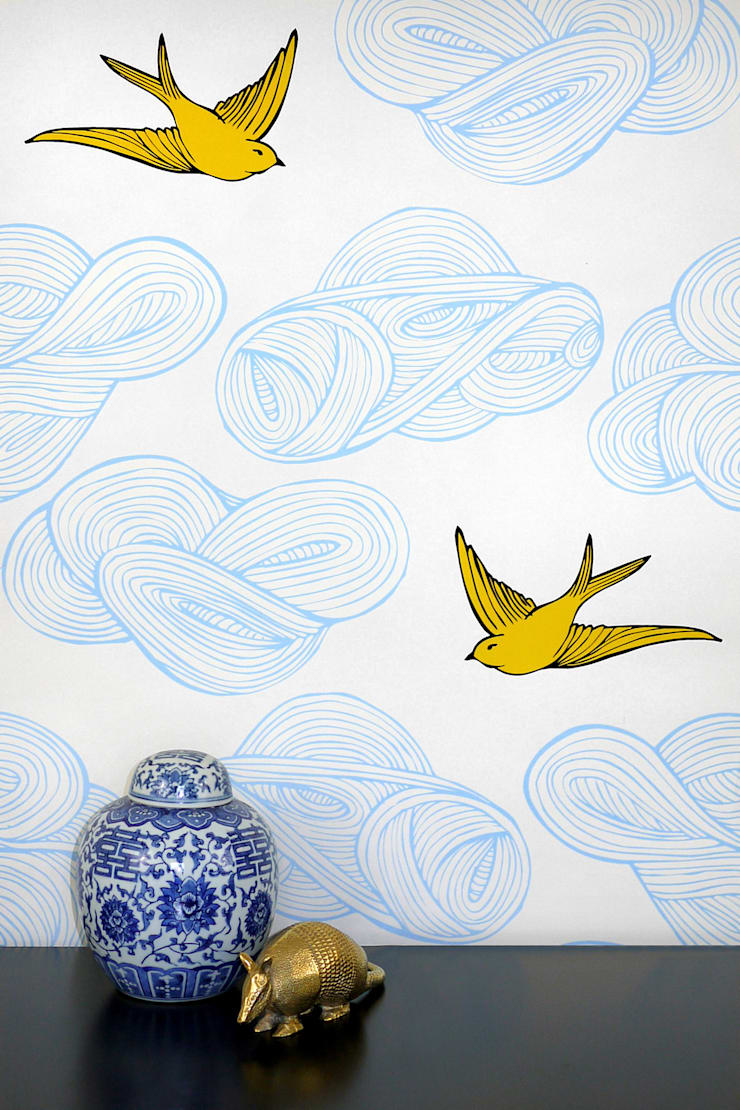 Daydream Wallpaper By Monument Interiors Homify