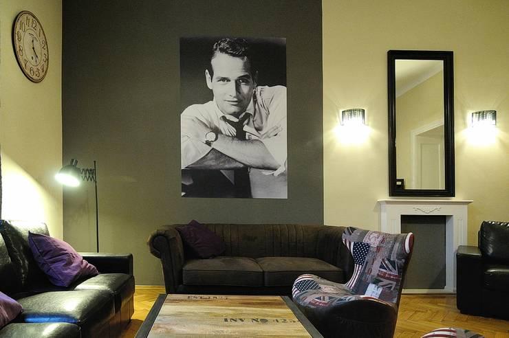 Hollywood Hostel: styl , w kategorii Hotele zaprojektowany przez ARTEMA  PRACOWANIA ARCHITEKTURY  WNĘTRZ