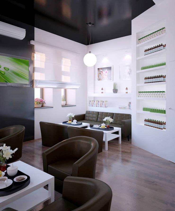 Organic Shop – concept store: styl , w kategorii Powierzchnie handlowe zaprojektowany przez Shtantke Interior Design