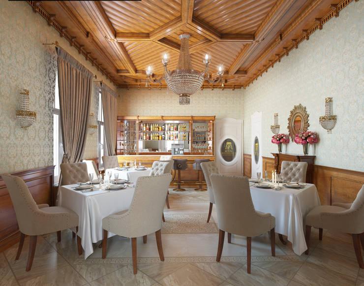Royal Residence Hotel and SPA : styl , w kategorii Hotele zaprojektowany przez Shtantke Interior Design,Klasyczny